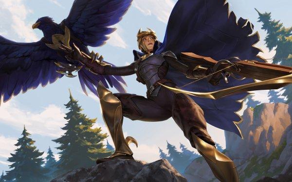 Video Game Legends of Runeterra Quinn HD Wallpaper | Background Image