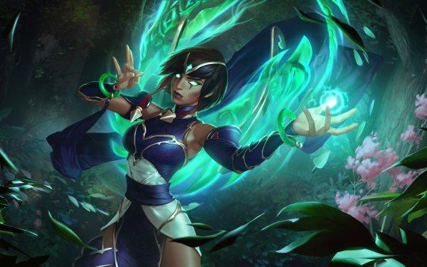 Video Game Legends of Runeterra Karma HD Wallpaper   Background Image
