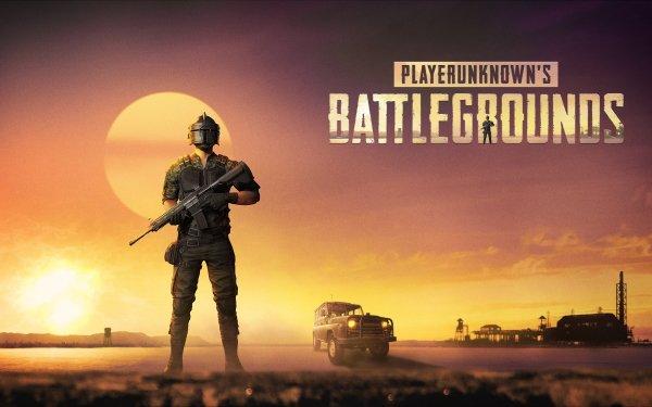 Video Game PlayerUnknown's Battlegrounds M4 Carbine Gun Helmet HD Wallpaper | Background Image