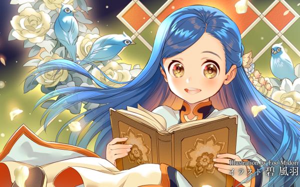 Anime Ascendance of a Bookworm Myne Honzuki no Gekokujou: Shisho ni Naru Tame ni wa Shudan wo Erandeiraremasen HD Wallpaper | Background Image