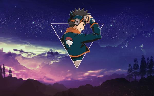 Anime Naruto Obito Uchiha Uchiha Clan Sharingan Mangekyō Sharingan HD Wallpaper   Background Image