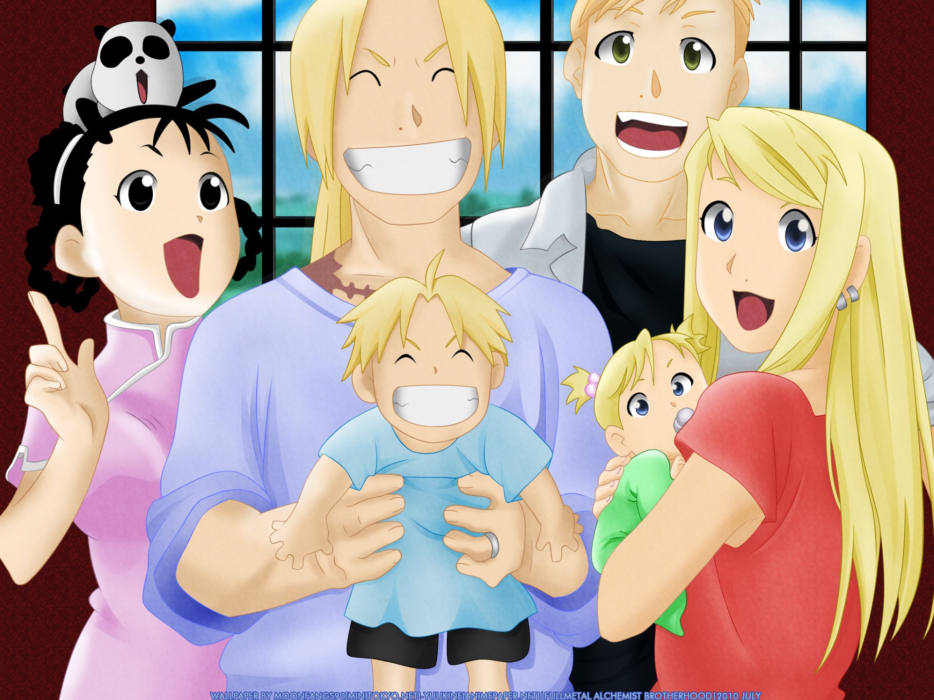 Anime - FullMetal Alchemist  Shao May Winry Rockbell Edward Elric Alphonse Elric May Chang Wallpaper