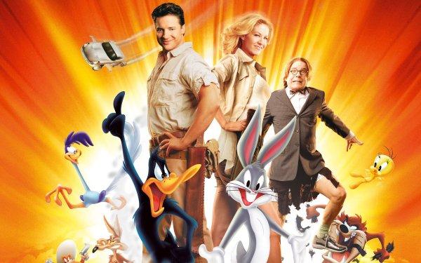 Movie Looney Tunes: Back in Action Looney Tunes Bugs Bunny Daffy Duck Road Runner Wile E. Coyote Tasmanian Devil Tweety Yosemite Sam Brendan Fraser HD Wallpaper | Background Image