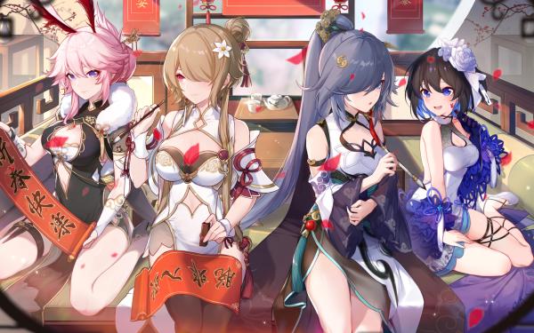 Video Game Honkai Impact 3rd Yae Sakura Rita Rossweisse Fu Hua Seele Vollerei HD Wallpaper   Background Image