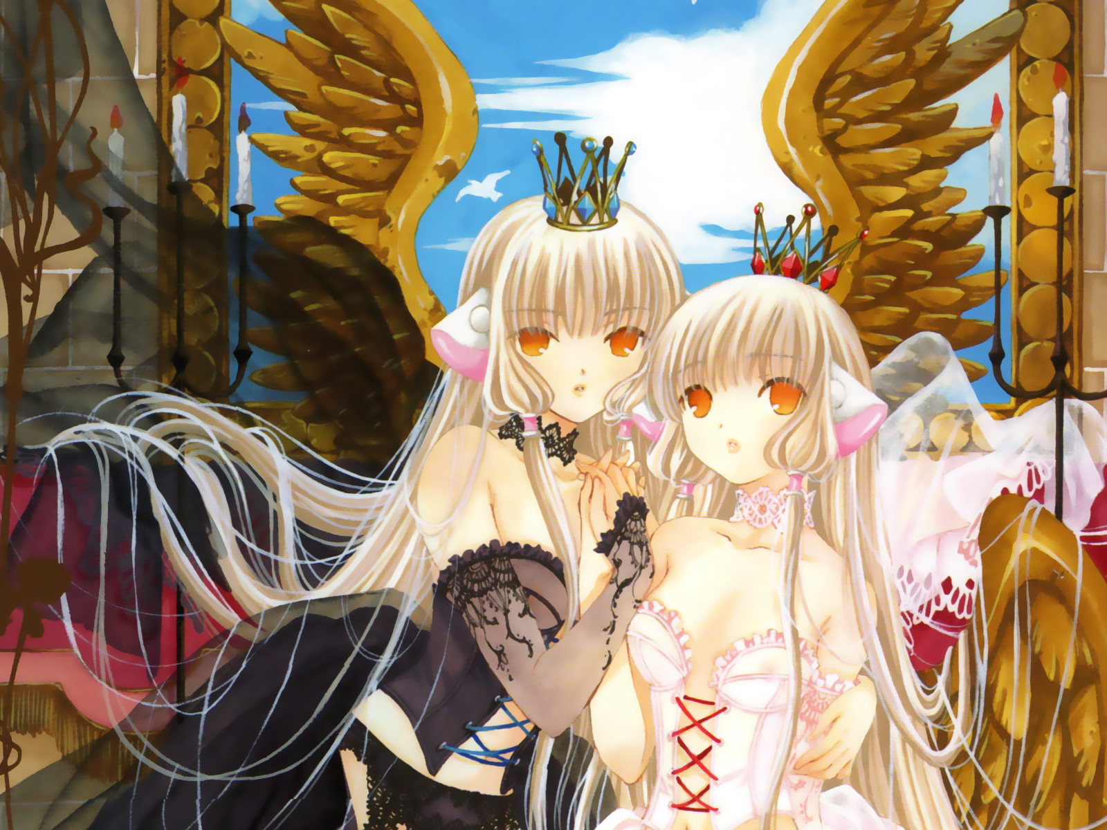 Chobits wallpaper and background image 1600x1200 id 109340 - Wallpaper manga anime ...