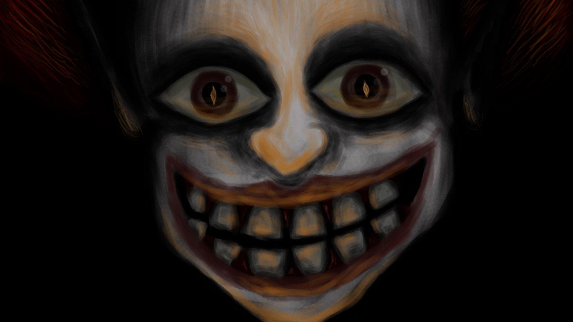 Dark - Clown  Creepy Jeff The Killer Wallpaper