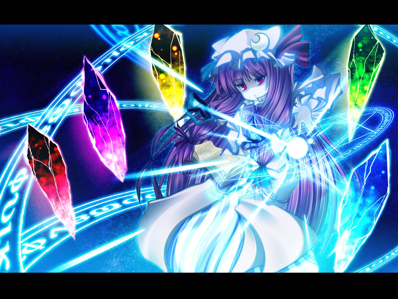 Anime - Touhou  Patchouli Knowledge Wallpaper