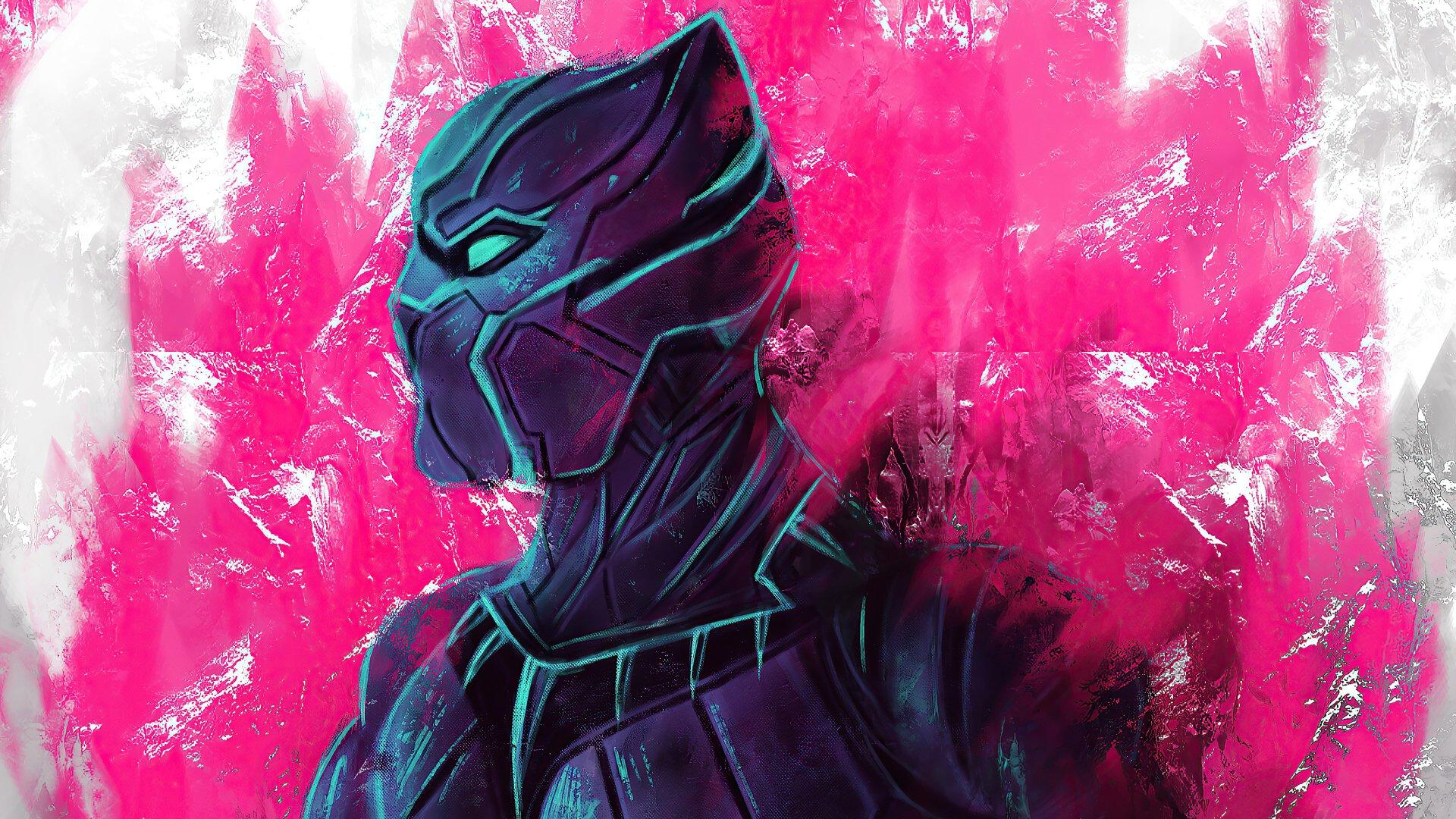 Black Panther 4k Ultra HD Wallpaper | Background Image ...