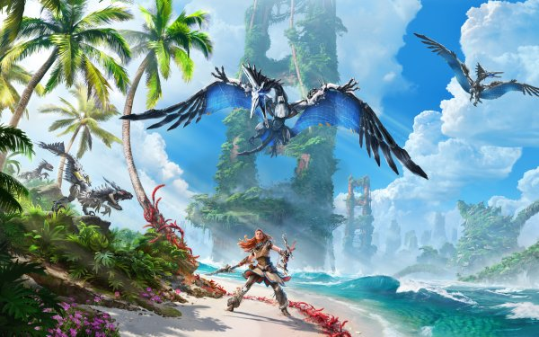 Video Game Horizon Forbidden West Aloy HD Wallpaper   Background Image