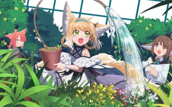 Video Game Arknights Perfumer Suzuran Girl Animal Ears HD Wallpaper   Background Image