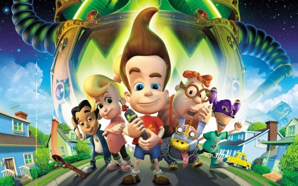 Movie Jimmy Neutron: Boy Genius Jimmy Neutron HD Wallpaper | Background Image
