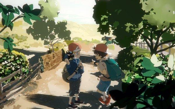 Anime Pokémon: Twilight Wings Pokémon John Tommy Boy Backpack Cap HD Wallpaper | Background Image