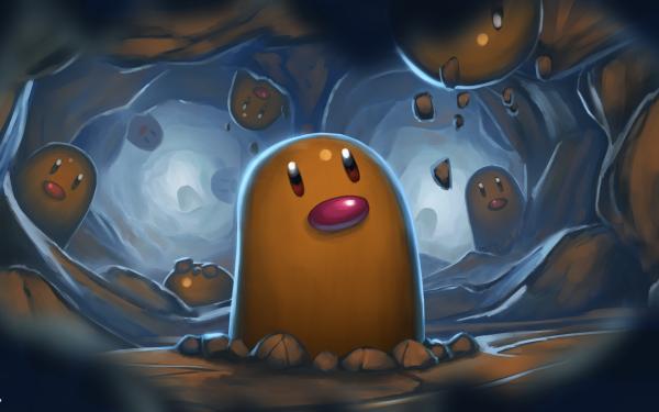 Anime Pokémon Diglett HD Wallpaper   Background Image