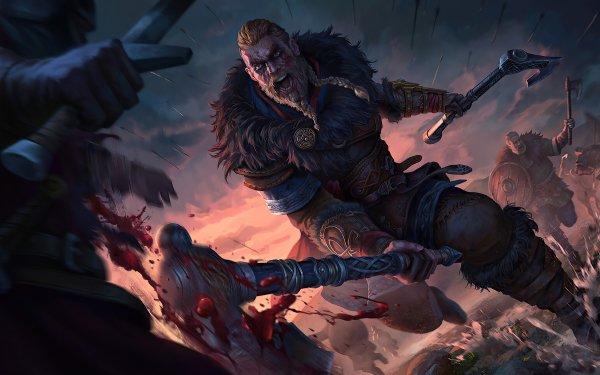 Videojuego Assassin's Creed Valhalla Assassin's Creed Eivor Guerrero Vikingo Fondo de pantalla HD   Fondo de Escritorio