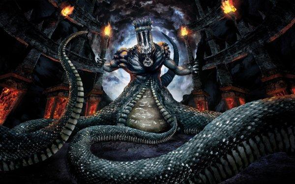 Videojuego Dante's Inferno Hell Magician Fondo de pantalla HD | Fondo de Escritorio