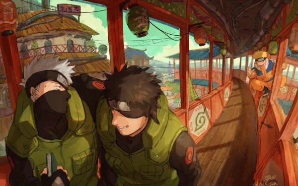 Anime Naruto Kakashi Hatake Naruto Uzumaki Obito Uchiha HD Wallpaper | Hintergrund