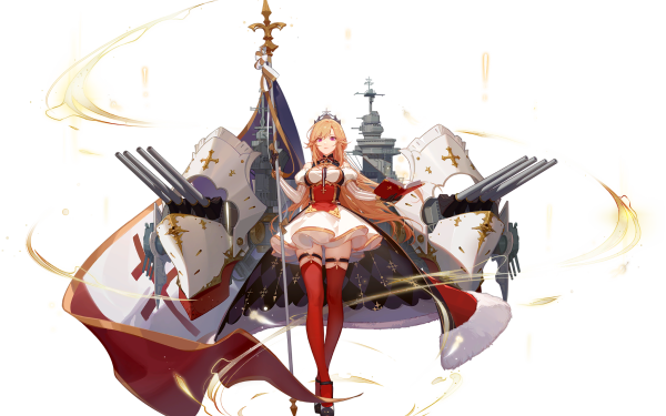 Anime Azur Lane Richelieu HD Wallpaper   Background Image