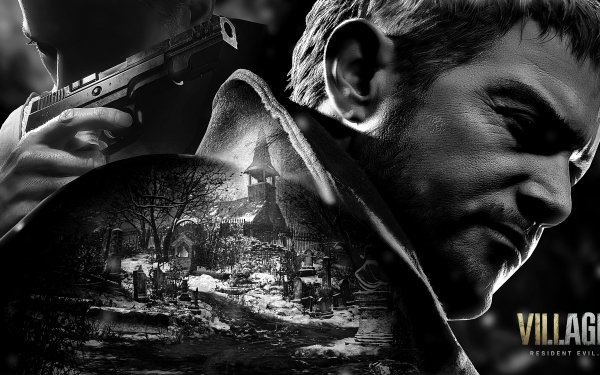 Video Game Resident Evil Village Resident Evil Ethan Winters Chris Redfield HD Wallpaper | Background Image