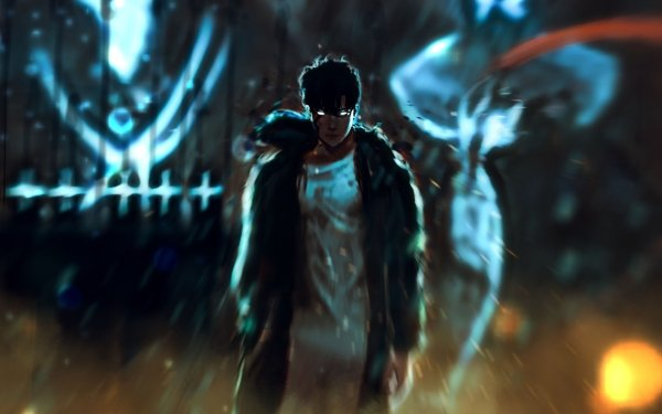 Anime Solo Leveling Sung Jin-Woo Igris Iron HD Wallpaper | Background Image