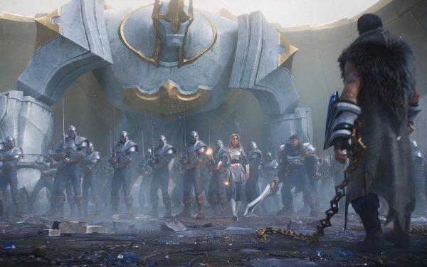 Videojuego League Of Legends Sylas Lux Garen Galio Fondo de pantalla HD | Fondo de Escritorio