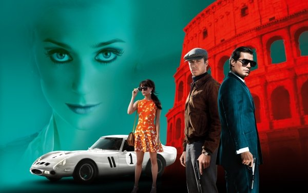 Movie The Man from U.N.C.L.E. Henry Cavill Armie Hammer HD Wallpaper | Background Image