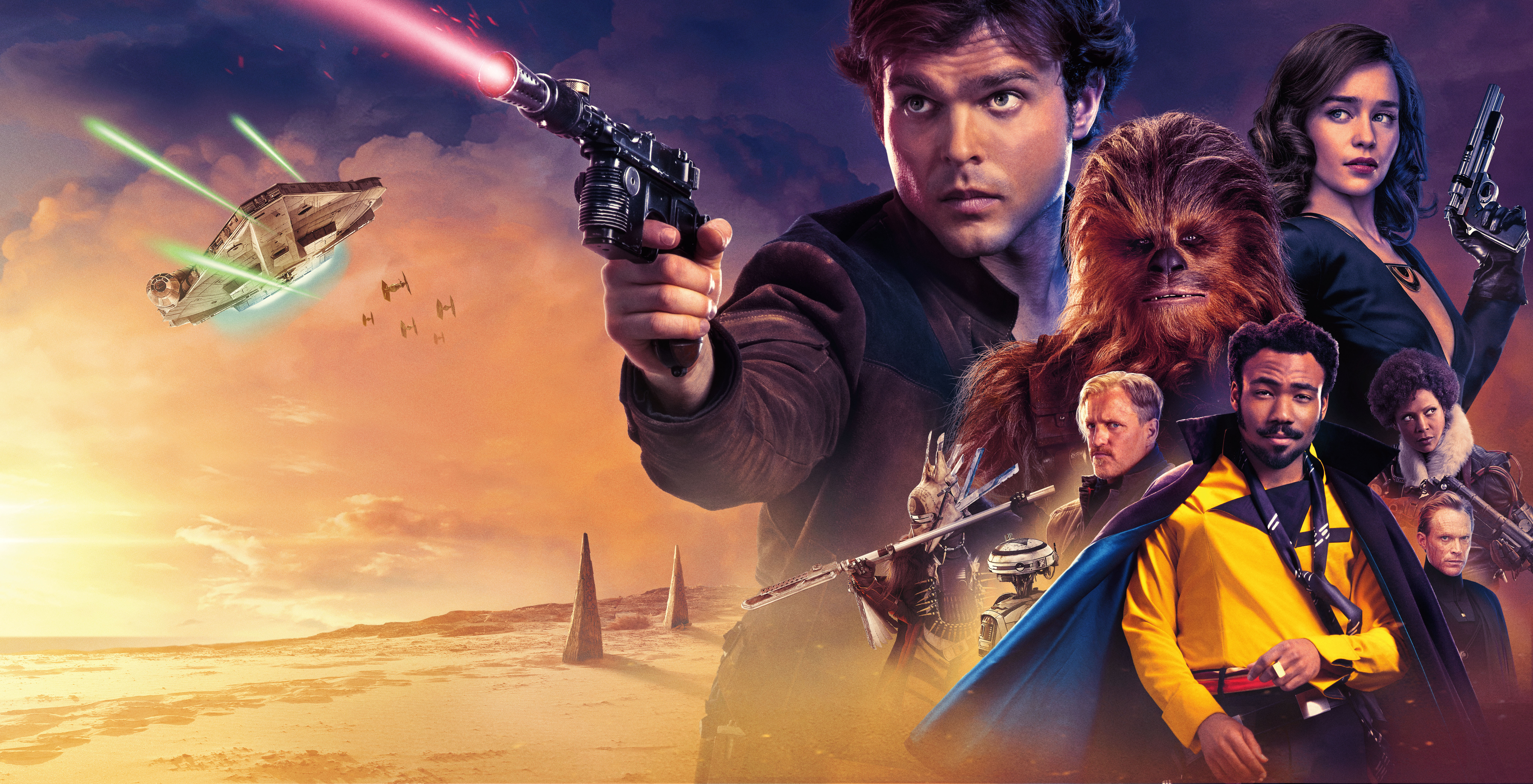 Solo A Star Wars Story 5k Retina Ultra Hd Wallpaper Background Image 8071x4133 Id 1113981 Wallpaper Abyss