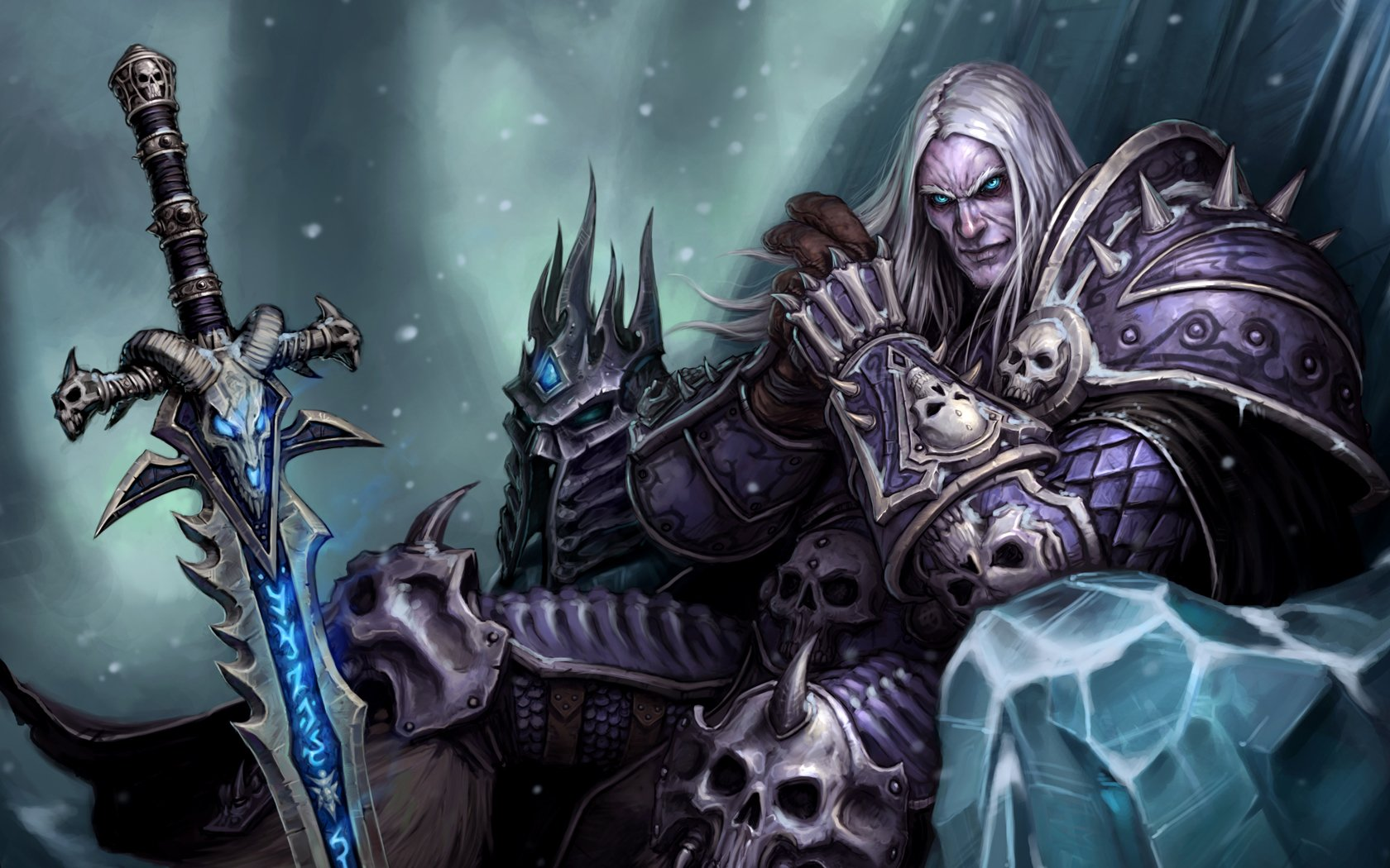 7 Frostmourne World Of Warcraft Hd Wallpapers Background