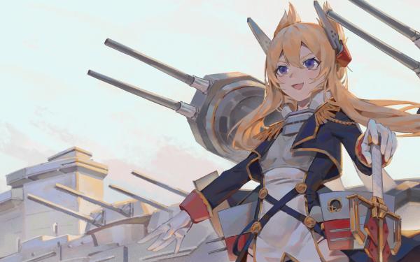 Anime Azur Lane Warspite HD Wallpaper | Background Image