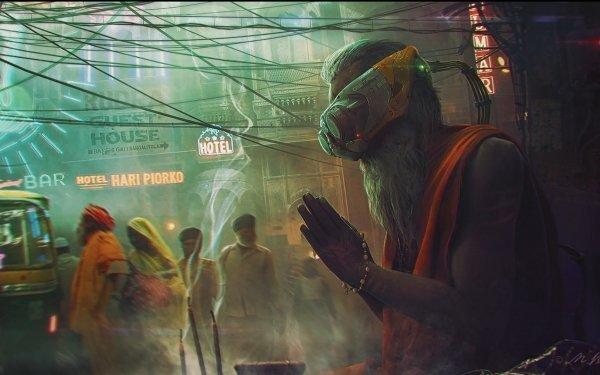 Sci Fi Cyberpunk Cyborg HD Wallpaper | Background Image