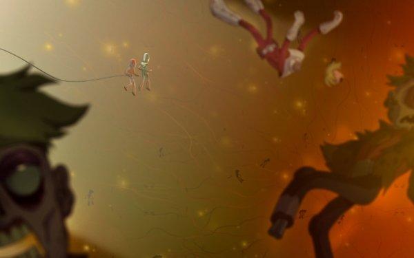TV Show Final Space Gary Goodspeed Quinn Airgon Zombie HD Wallpaper | Background Image