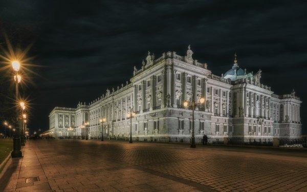 Man Made Palace Palaces Madrid Royal Palace of Madrid Spain HD Wallpaper   Background Image