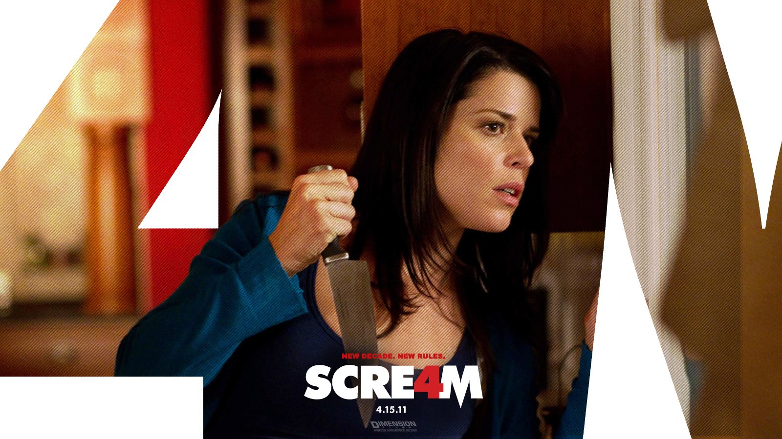Films - Scream 4  Wallpaper