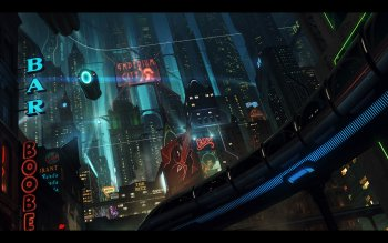 Sciencefiction - Stad Wallpapers and Backgrounds ID : 112332