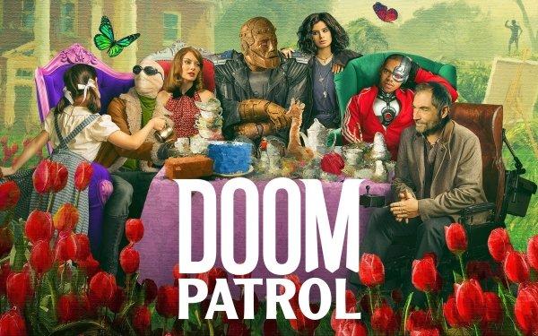 TV Show Doom Patrol Robotman Cyborg Crazy Jane Elasti-Girl Negative Man HD Wallpaper | Background Image