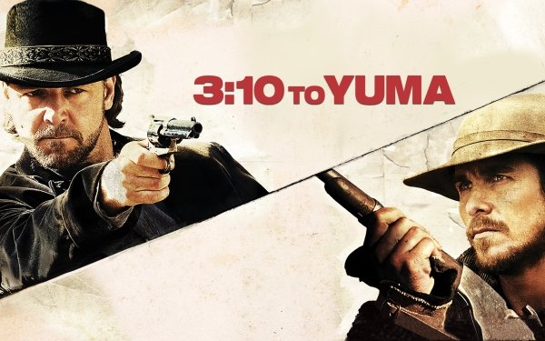 Movie 3:10 to Yuma (2007) Russell Crowe Christian Bale HD Wallpaper | Background Image