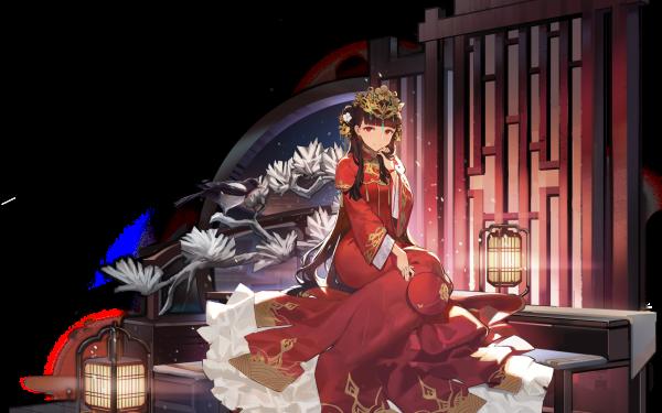 Anime Azur Lane Yat Sen HD Wallpaper   Background Image