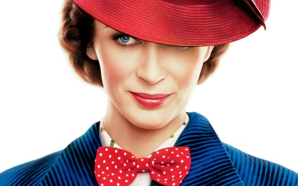 Movie Mary Poppins Returns Emily Blunt Mary Poppins HD Wallpaper | Background Image