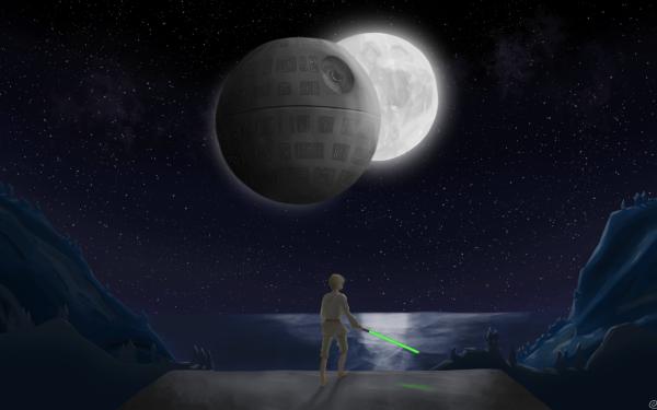 Movie Star Wars Death Star HD Wallpaper   Background Image