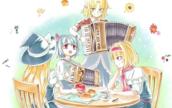 Anime Touhou Nazrin Alice Margatroid Marisa Kirisame Parsee Mizuhashi HD Wallpaper   Background Image
