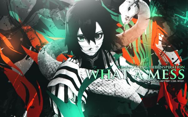Anime Demon Slayer: Kimetsu no Yaiba Obanai Iguro HD Wallpaper | Background Image