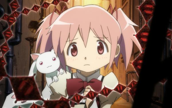 Anime Mahou Madoka Kaname Puella Magi Madoka Magica HD Wallpaper | Background Image