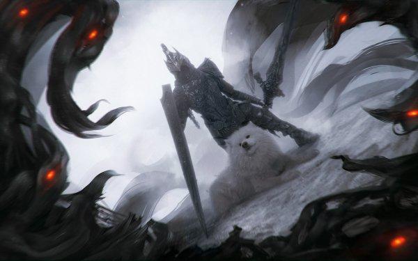Jeux Vidéo Dark Souls Artorias Fan Art Fond d'écran HD | Image