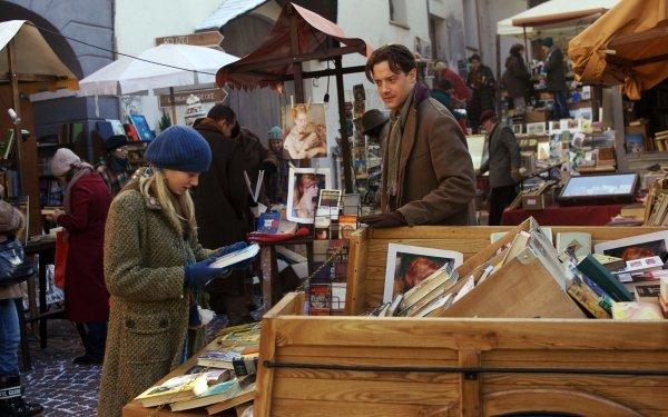 Movie Inkheart Mortimer Folchart Meggie Folchart Brendan Fraser Eliza Bennett HD Wallpaper | Background Image