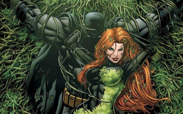 Comics Batman: Detective Comics Batman Poison Ivy DC Comics HD Wallpaper | Background Image