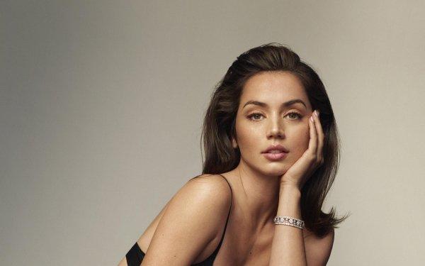 Celebrity Ana de Armas Actresses Cuban Actress Brunette Green Eyes HD Wallpaper | Background Image