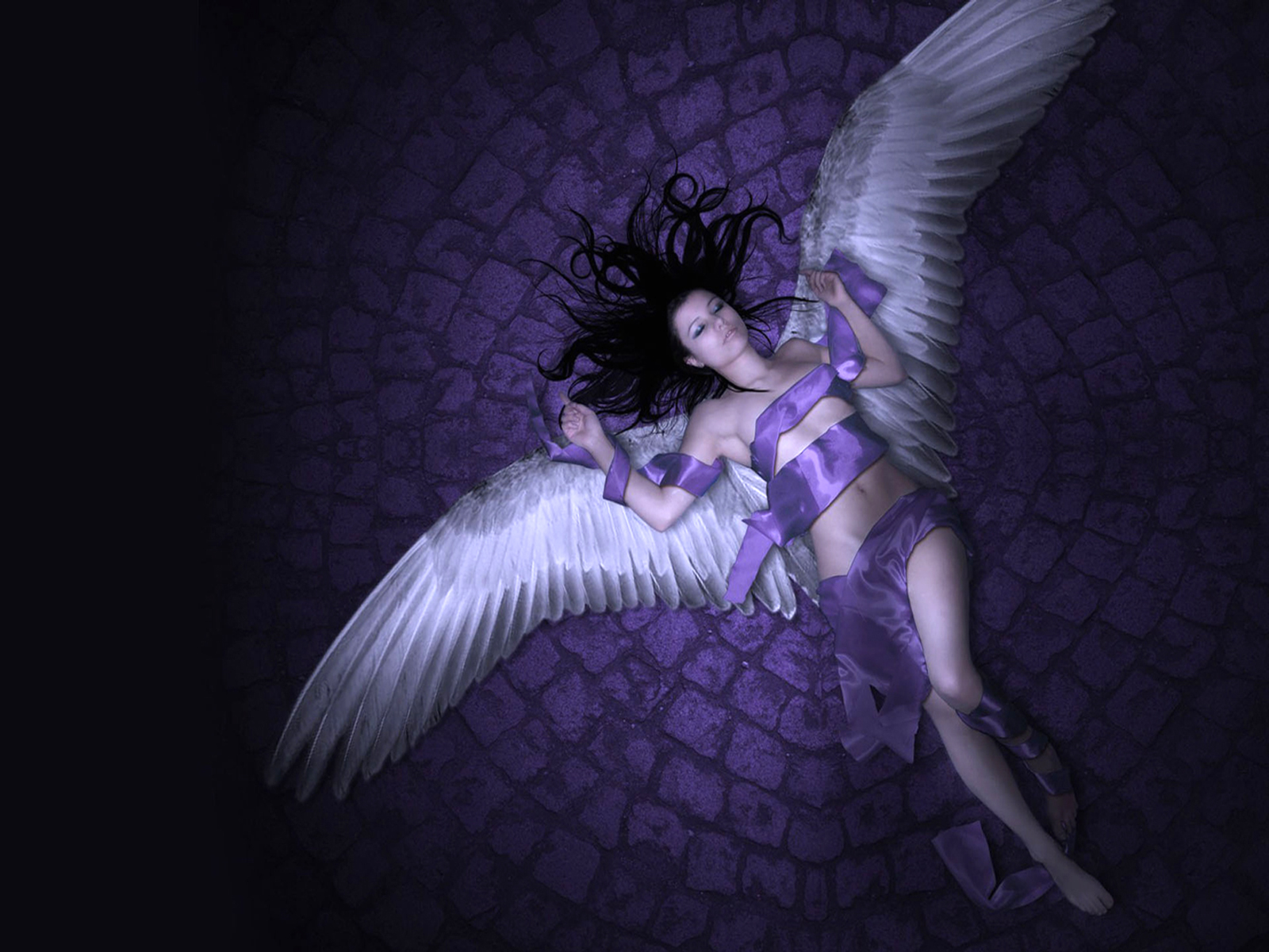 CGI - Engel  Fallen Anjelesa Angel Wallpaper