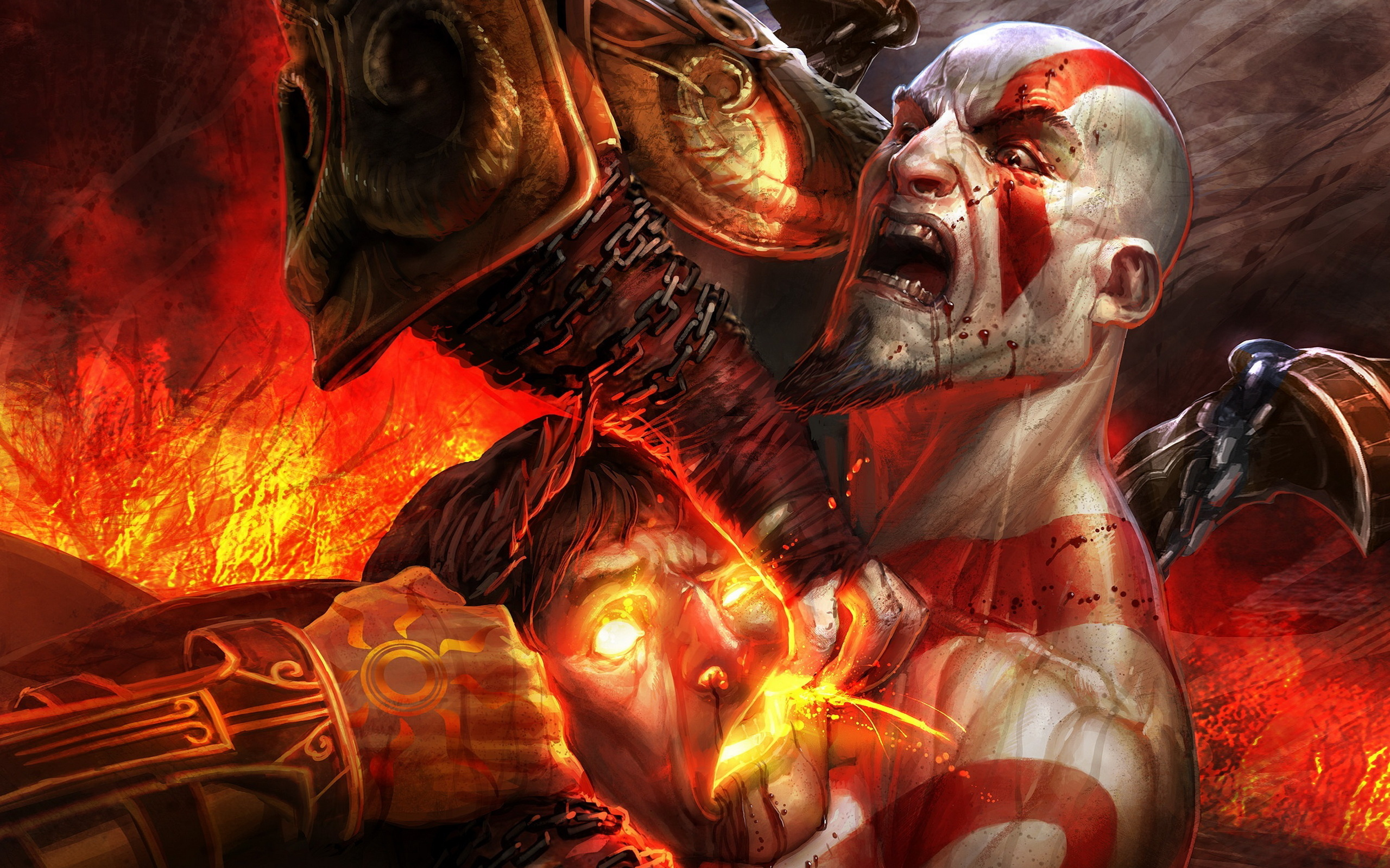 100 Kratos God Of War Hd Wallpapers Background Images