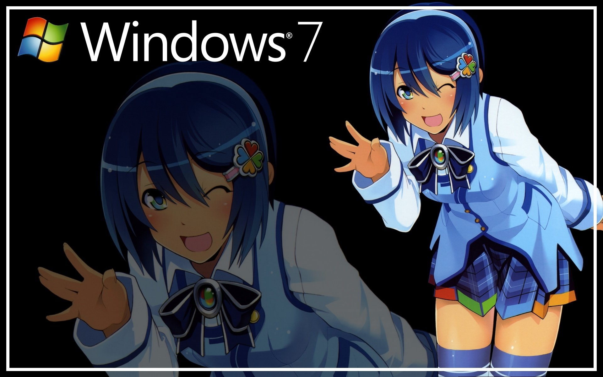 Anime - Os-tan  Windows 7 Nanami Madobe Wallpaper