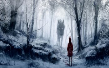 Género Fantástico - Red Riding Hood Wallpapers and Backgrounds ID : 113462