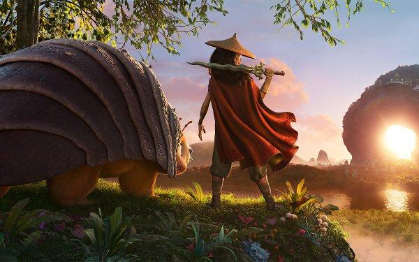 Movie Raya and the Last Dragon Raya Tuk Tuk HD Wallpaper | Background Image